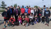 Veinti�n escolares totaneros participaron en la Final Regional de Campo a Trav�s de Deporte Escolar, en las categor�as infantil, cadete y juvenil