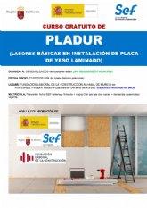 Curso gratuito de Pladur en la Fundación Laboral de la Construcción