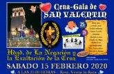La Hermandad de La Negaci�n celebrar� su Cena-gala de San Valent�n el s�bado 15 de febrero