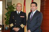 El Delegado de Defensa en la Región de Murcia se reunió con el Alcalde de Alcantarilla