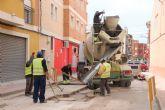 Comienzan las obras de plataforma �nica en la calle Parricas y renovaci�n de redes de agua y saneamiento en la avenida España