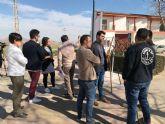 Obras de mejora en la plaza Isidro Madrid y las calles Tomás Bretón y Federico Chueca de Santa Rosalía