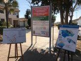 Obras de mejora en la plaza Santa Águeda y calles de San Cayetano