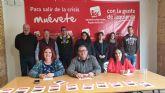 IU-Verdes se presenta  como la alternativa  de izquierdas, ecologista y feminista para recuperar el gobierno municipal de Alcantarilla
