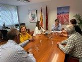 Reunión con el Consejero de Sanidad para solicitar mejoras sanitarias en La Unión, Portmán y Roche