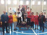 20 centro escolares de la Regi�n compitieron en Mazarr�n por ser los l�deres del tenis de mesa de Deporte Escolar