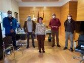El alcalde se re�ne con representantes de la nueva Federaci�n de Comercio de la Regi�n de Murcia (COREMUR)