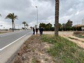 Los Olmos acondiciona sus ramblas y prevé la ampliación del colegio, un carril-bici con Resort Mar Menor y un nuevo jardín en Los López