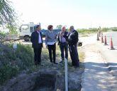 La Consejería de Fomento realiza actuaciones de mejora en la carretera RM-D11 que une La Estación-Esparragal con Lorca