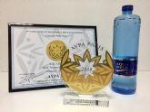 El agua mineral natural Aquadeus consigue el oro en el concurso Internacional de Aguas Gourmet de Par�s