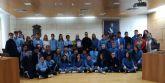 Alumnos de 2° de la ESO del Colegio La Milagrosa presentan a la concejala de Juventud el proyecto #Juvenocio 3.0