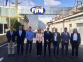 El Ayuntamiento de Molina de Segura visita las instalaciones de la compañía molinense Fini Golosinas España SLU