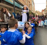 Puerto Lumbreras celebra por primera vez la procesión de papel