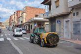 Archena se vuelca con el Plan de Desinfección Municipal frente al COVID-19