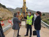 Mejoran la seguridad de la carretera que une la pedanía de Caprés con el municipio de Fortuna