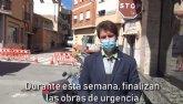 Finalizan las obras de emergencia en la red de saneamiento de Calle Maderera