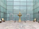 El patio interior de la nueva Casa Consistorial toma el nombre de D. Julián Pagán López
