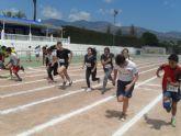 La fase local de atletismo de Deporte Escolar cont� con la participaci�n de 98 escolares