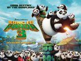 La película de animación infantil Kun Fu Panda 3 se proyecta este próximo fin de semana