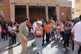 La XIII Marcha Solidaria 'Por el Alzheimer', que organiza AFADE Alcantarilla logra una edición más a cientos de participantes en la misma