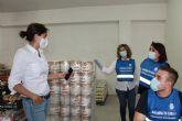 Una gigantesca Despensa Solidaria en Archena para el COVID-19