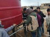 Acción contra el Hambre aumenta sus distribuciones de agua en Siria para prevenir una expansión de la Covid-19