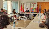Los Informadores Juveniles de la Región celebran unas jornadas en Lorquí para establecer un espacio de trabajo conjunto