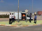 El Ayuntamiento procede a la reparación del cableado sustraído en el Polígono Industrial Municipal de Balsicas