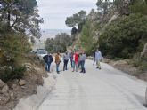 [La Comunidad Autónoma repara los caminos forestales de acceso al punto de vigilancia de la Sierra de la Pila y al radar de la Agencia de Meteorología