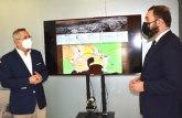 El alcalde de La Unión presenta el Plan de Sostenibilidad de Portmán al director general de Competitividad y Calidad Turística