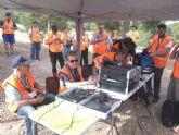 La REMER realiza un simulacro para la localización de una persona desaparecida en el parque regional El Valle y Carrascoy