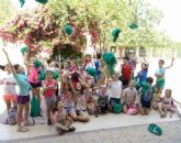 Unos 30 niños y niñas participan en las actividades medioambientales organizadas en el paraje de La Santa con motivo del Día Mundial del Medio Ambiente