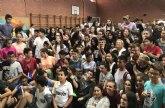 Alumnos de Los Alcázares participan junto al actor Nacho Guerreros en una jornada frente al acoso escolar