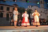 La peña El Caldero clausuró su XIII Festival de Folklore en el parque de La Aduana