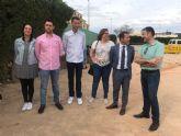 Plantación de cipreses para celebrar el Día del Medio Ambiente