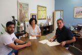 El Ayuntamiento suscribe un nuevo convenio de colaboración con el Club de Tenis Puerto Lumbreras