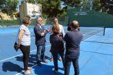 Culmina la reforma de tres pistas y la mejora de iluminación en el complejo deportivo Juan Carlos I