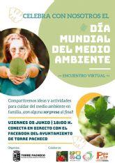 Torre Pacheco celebra el Día del Medio Ambiente con una iniciativa a través de las redes sociales y con la plantación de árboles