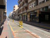 La creación de zonas peatonales de Águilas ha de pasar primero por la construcción de un parking