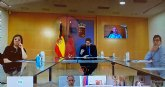 El alcalde de Totana mantiene un encuentro por v�a telem�tica con el presidente de la Comunidad y el resto de alcaldes de la Regi�n