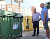 Puerto Lumbreras lanza una campaña de concienciación sobre el uso y los horarios de los contenedores de basura