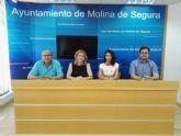 El Ayuntamiento de Molina de Segura y la empresa PROINTEC firman un contrato para la elaboración del Plan de Movilidad del municipio