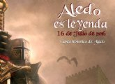 'Aledo es Leyenda' tendrá lugar el sábado 16 de julio en Aledo