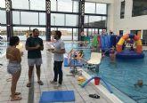 Diversión en el agua para concluir los cursos de piscina del ´State Sport Las Torres´
