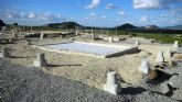 Trabajos de excavación e investigación en la Villa romana de Los Cantos