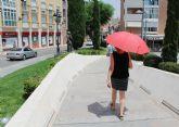 La Aemet eleva a naranja el nivel de aviso por altas temperaturas y tormentas en la Regi�n de Murcia durante este pr�ximo fin de semana