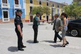 El Delegado del Gobierno en Murcia visita Bullas