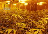 La Guardia Civil desmantela en Mula una organización criminal dedicada al tráfico de drogas