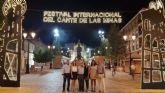 El Festival Internacional del Cante de las Minas de La Unión inicia sus galas con el pregón de la bailaora Blanca del Rey