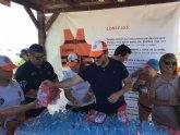 Presidencia presenta la campaña ´Disfruta de un baño seguro´ en San Javier